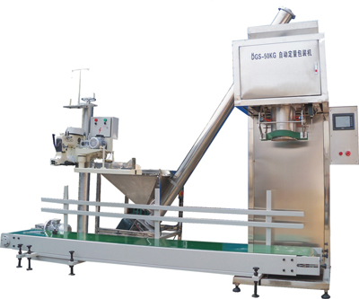 DGS-50F 50Kg Powder Packing Machine Set