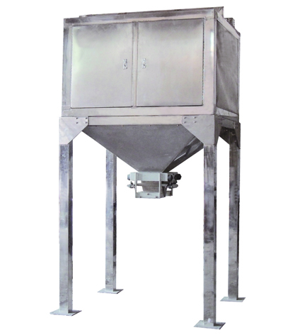 2DC-50KP platform type double hoppers particle weighing machine