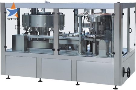 Juice Cans Filling Capping Machine