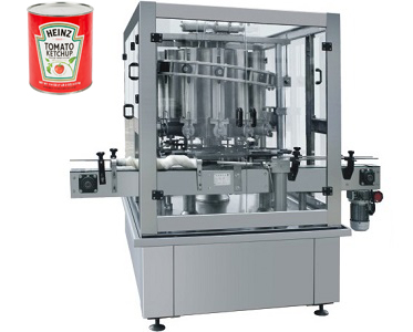 Automatic Thick Sauce Can Filling Machine
