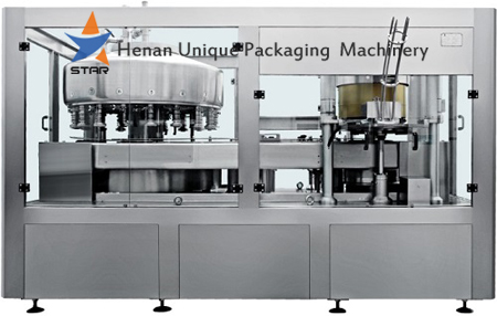 6000bph Automatic Can Filling and Capping Machine Set