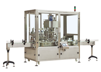 GXT-4 Filling and Capping Machine with Labeling