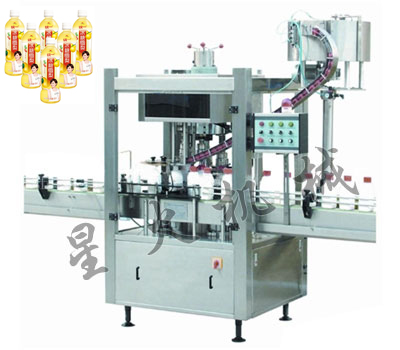 FX-8 Fully Automatic Screw-on Capping Machine For Juice Bottles