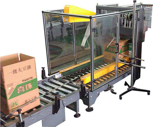 Edible Oil Carton Automatic Packing Machine