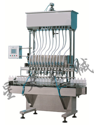 DGP-12B Liquid Gravity Filling Machine