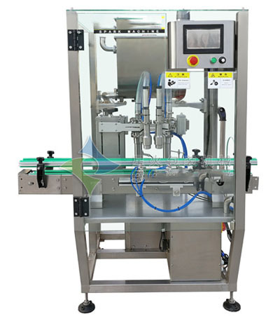 Chilli Sauce Full Automatic Filling Machine 2 Heads