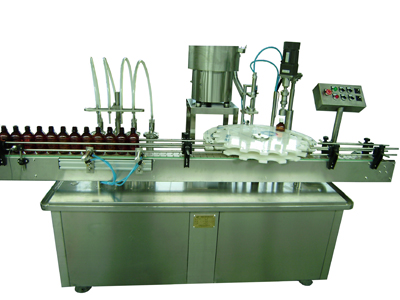 GX-4Y Automatic Filling And Capping Machine