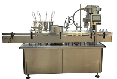 GYS-4Y Automatic Filling Inner Pluging and Capping Machine