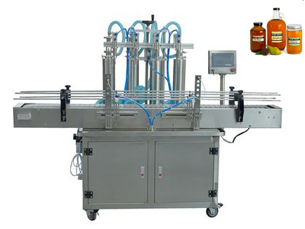 Viscous Liquid Automatic Filling Machine For Honey, Butters, Grease