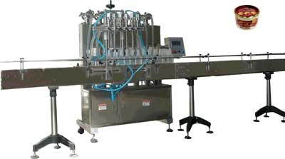 NY-L6 Viscous Liquid Automatic Filling Machine for Lubricant, Syrup