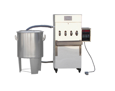 4 Heads Semi-automatic Liquid Filling Machine