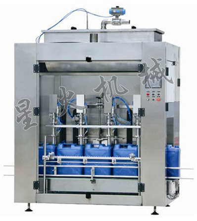 4 Heads Automatic Liquid Weighing Filling Machine