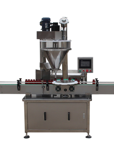 FDT-01 Automatic Powder Filling Machine With Chuck Positioning