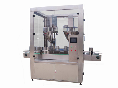FST High Precision Double Head Powder Canning Machine