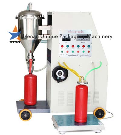 Economical Dry Powder Extinguisher Filling Machine