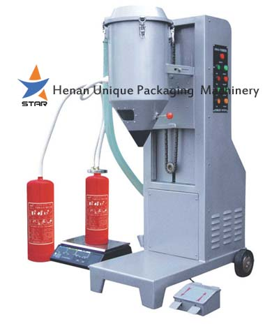 Dry Powder Fire Extinguisher Filling Machine