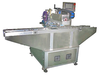 Egg Carton Labeling Machine