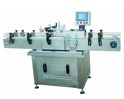 Round Bottle Vertical Labeling Machine Touch-Type Large-Scale LCD Panel
