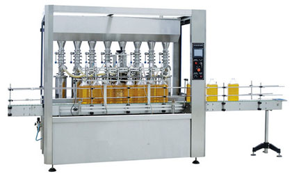 Fully Automatic 8-Head Edible Oil Filling Machine