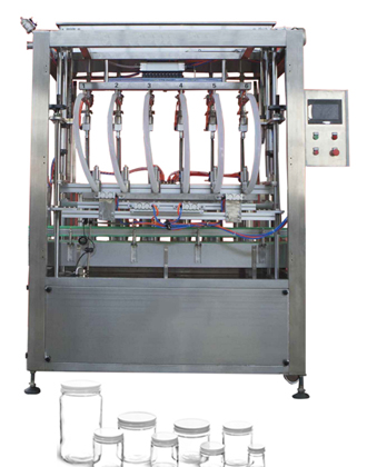 Automatic Liquid Bottle Piston Filling Machine