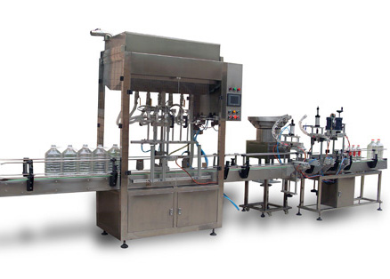 Automatic Lubricating Oil Special Filling Line