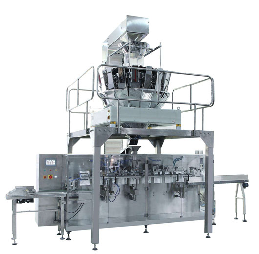 Automatic Bag Feeding Particle Packaging Machine