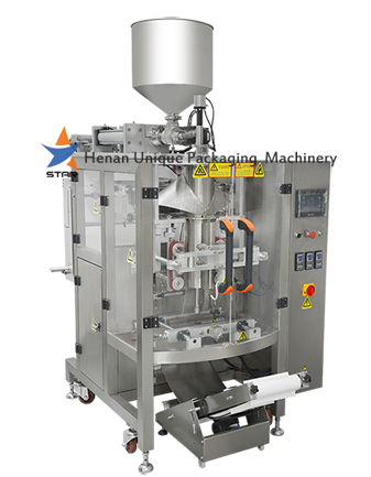 Mustard Oil Automatic Packaging Machine with Piston Pump Metering