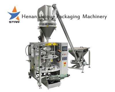 Automatic Starch Pillow Bag Packaging Machine with Servo Motor