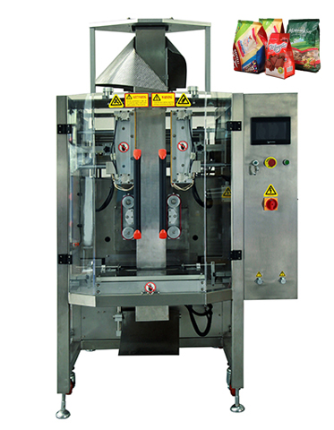 Square Bottles Bag Automatic Nuts Packaging Machine