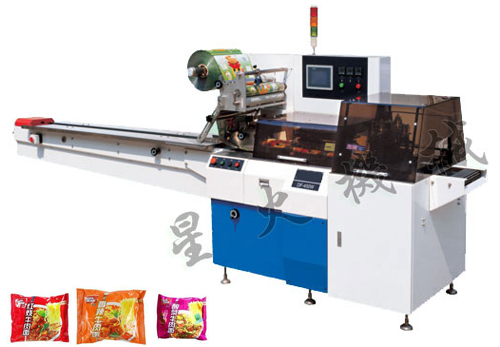 450W 600W Reciprocating Pillow Type Packaging Machine