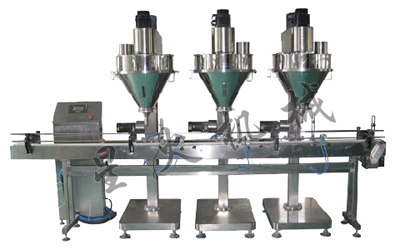 3 Heads Powder Cans Automatic Packaging Machine