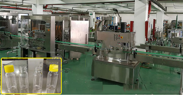 Full Automatic Paste Filling and Capping Production