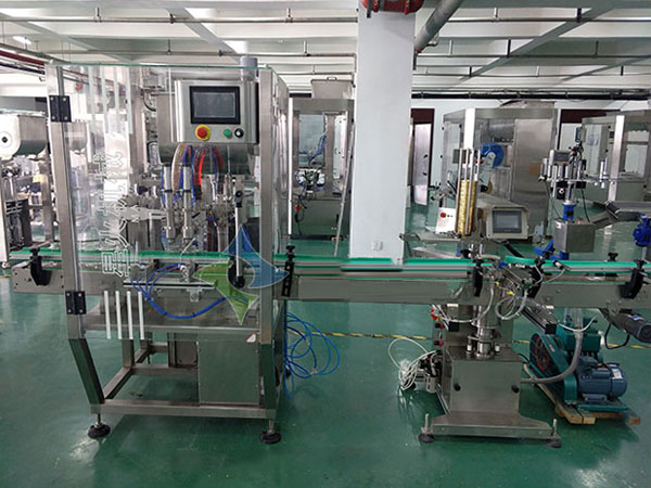 Full Automatic Sauce Filling and Capping Production Line