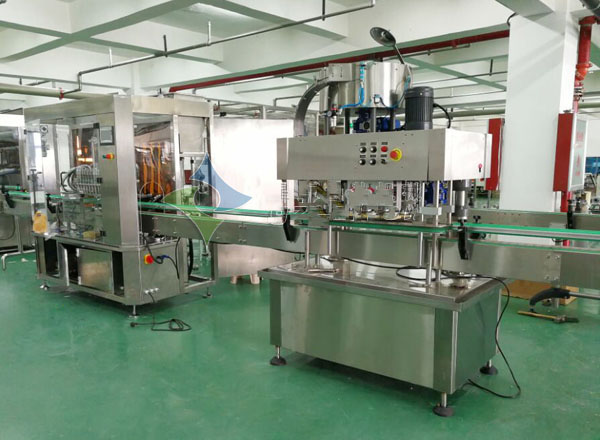 12 Heads Full Automatic Emulsion Filling Production Line