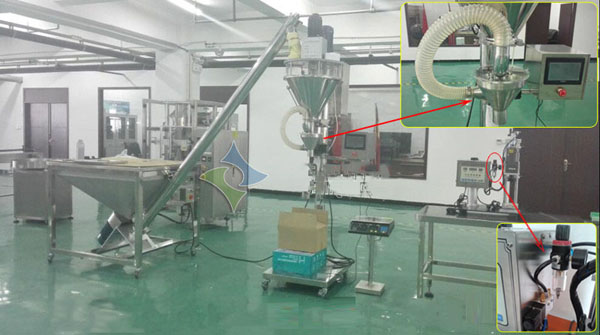 Fire Fighting Powder Filling Production Line Project