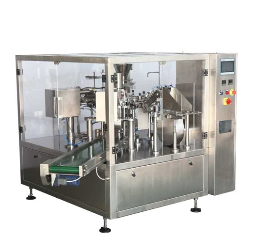Full Automatic Bag Feeding Packaging Machine for Sauce