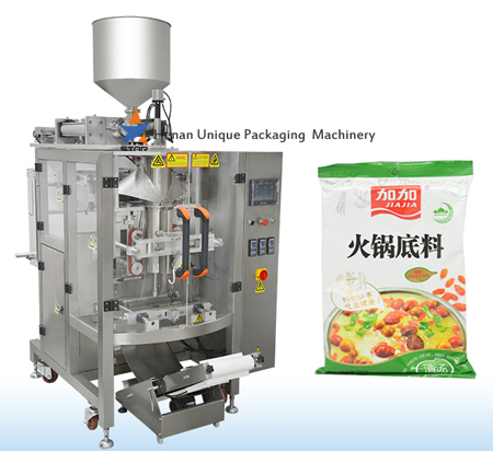 Chilli Sauce Automatic Pillow Bag Packaging Machine