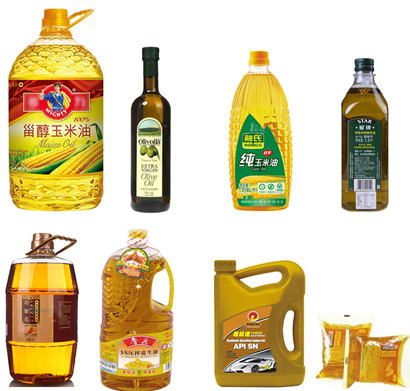 Automatic Edible Oil Filling and Capping Line