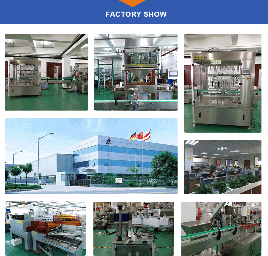 Packing machine factory show